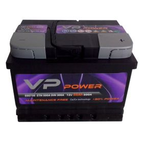 VP POWER AKUMULATOR  55 AH+D