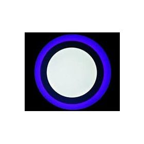 LED PANEL PLAVI OKRUGLI 18W