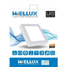 WELLUX LPS-18WS LED PANEL NADGRADNI KVADR. 6500K