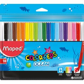 MAPED FLOMASTER COLOR PEPS OCEAN 18/1