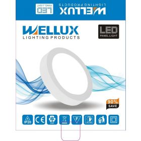 WELLUX LPS-18WR LED PANEL NADGRADNI OKRUGLI 6500K